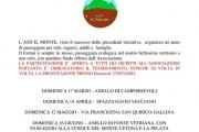 Passeggiate 2019 ASD Il Monte