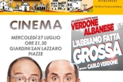 Cinema Cetona Estate 2016: L'Abbiamo fatta grossa