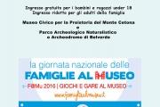 La giornata nazionale delle Famiglie al Museo 2016