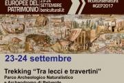Giornate Europee del Patrimonio 2017 - Trekking al Parco