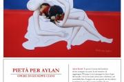 Pietà per Aylan - Mostra di Giuseppe Ciani, 28 agosto - 25 settembre 2016