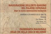 Sotto la Rocca, 24 e 31 marzo