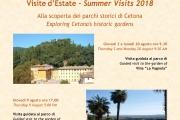 Visite d'Estate ai Parchi storici di Cetona